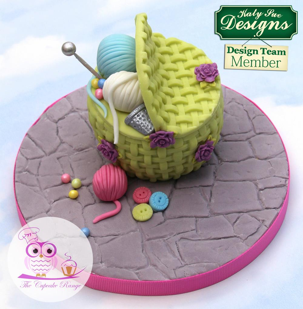 CD - An idea using the Basket Weave Silicone Mould product
