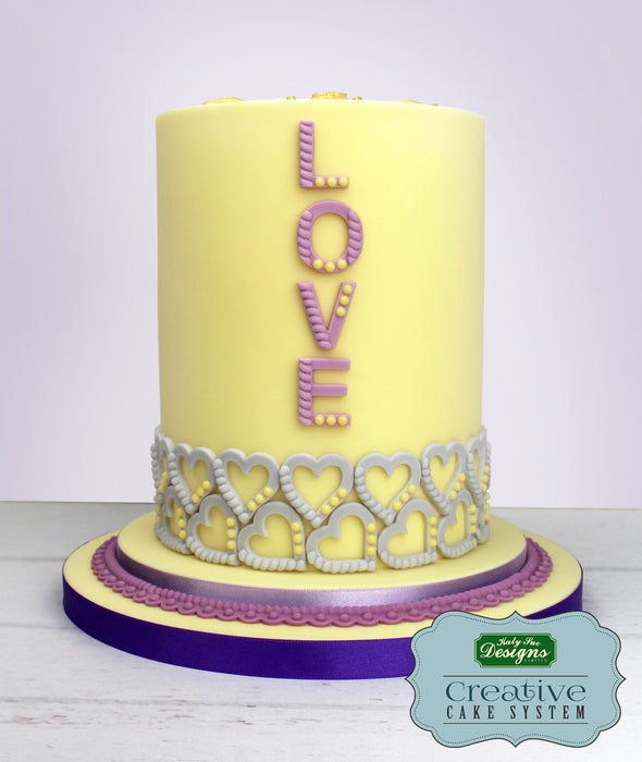 CD - An idea using the Rope and Pearl Borders Silicone Mould product