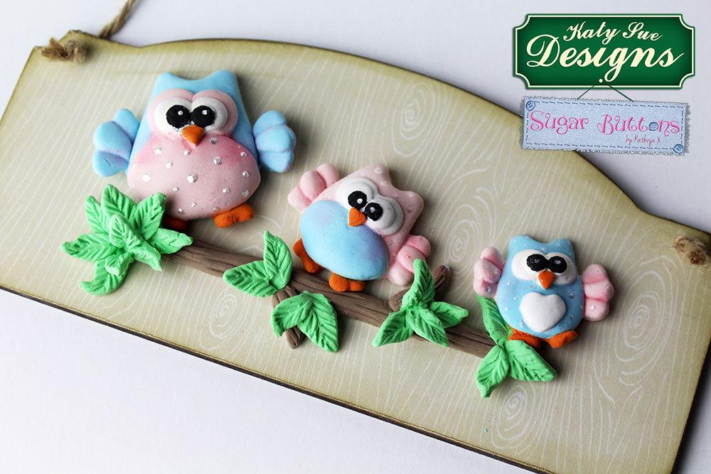 C - An idea using the Owls Sugar Buttons Silicone Mould product