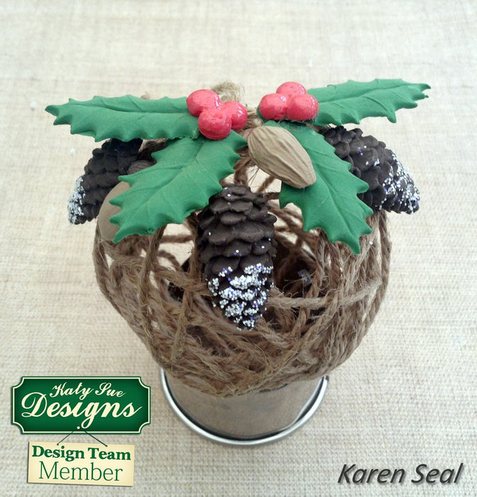 C - An idea using the Pine Cones Mould product