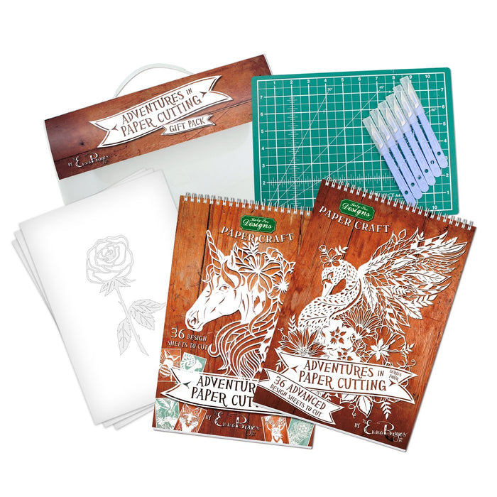 Adventures in Paper Cutting Gift Pack (Choose any 2 from Series 1, 2, 3 and 4)