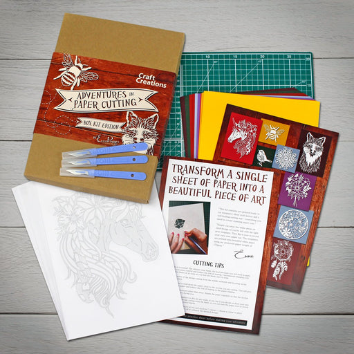 Adventures in Paper Cutting Box Kit Edition