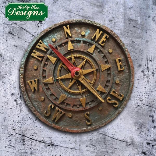 Antique Compass Silicone Mould