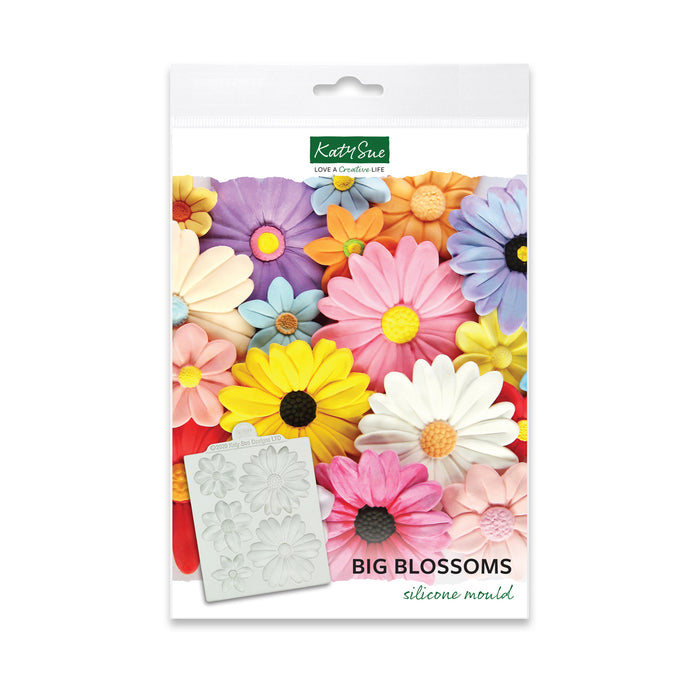 Big Blossoms Silicone Mould