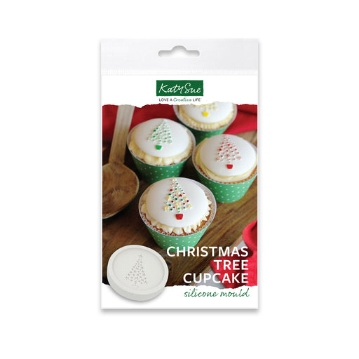 Christmas Cupcake Silicone Mould