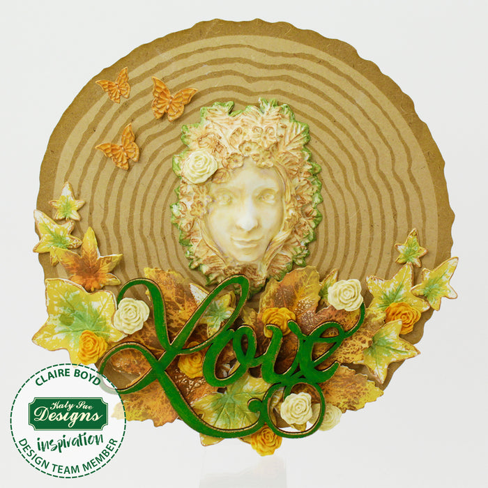 Green Woman Silicone Mould