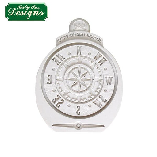 Antique Compass Silicone Mould for Cake Decorating and Craft