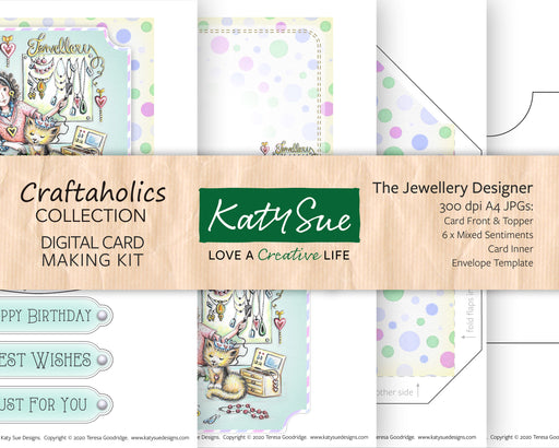 Craftaholics The Jewellery Designer | Digital Card Making Kit