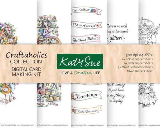 Craftaholics | Digital Card Making Kit