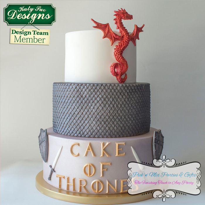 CD - Serpent Dragon Mould for Cake and Craft