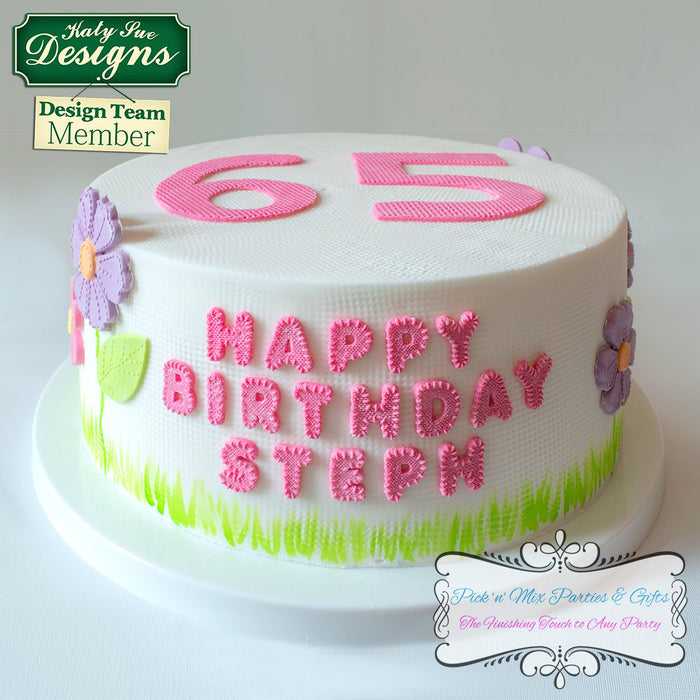 CD - Stitched Silicone Moulds for Cake Decorating