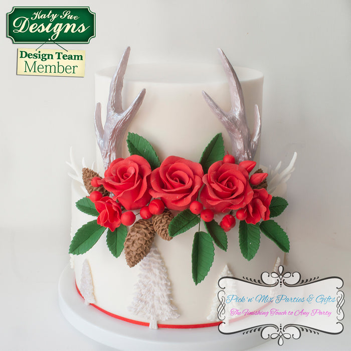 CD - Nicholas Lodge Large Antlers Mould