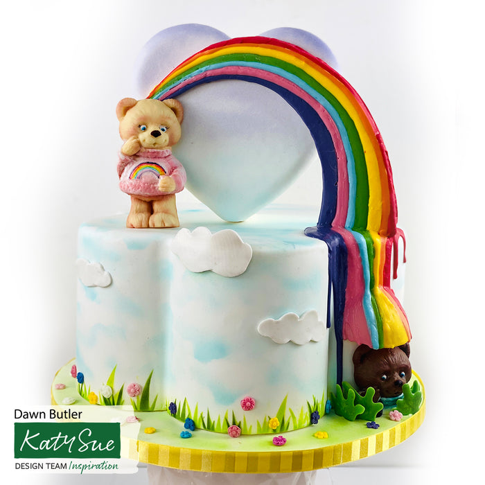 Rainbow Bear Silicone Mould