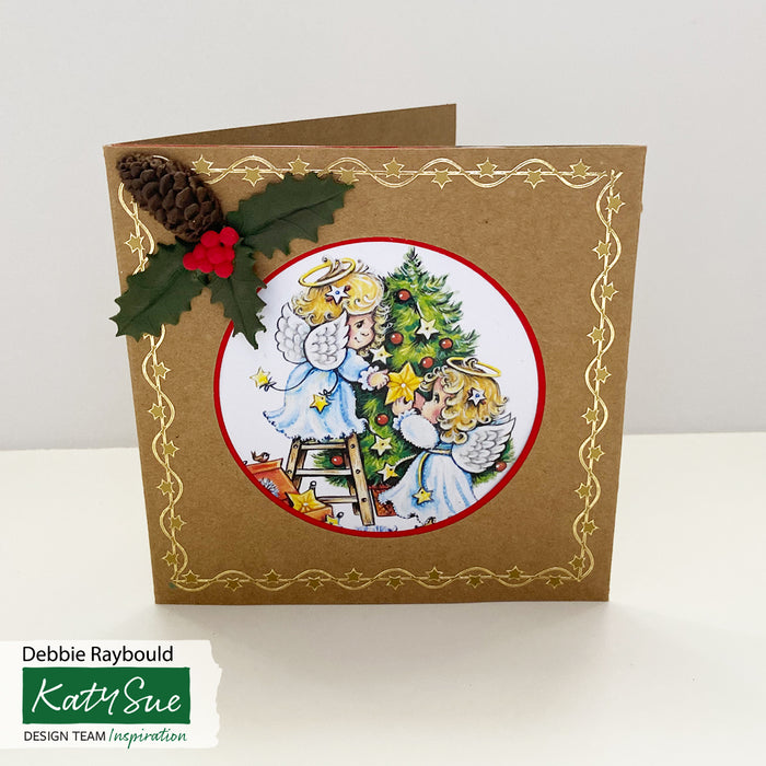 Christmas Angels | Paper Craft Pad (Not Die Cut)