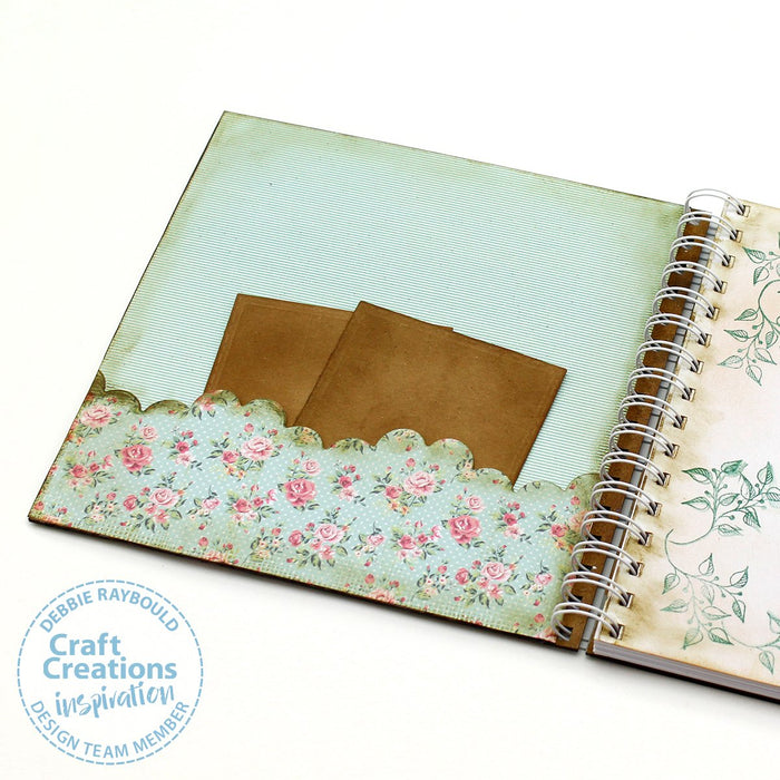 8 inch Square MDF Journals - Lattice