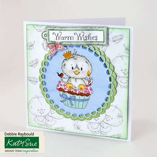 Feather & Down | Card Topper Colouring Sheets (Set of 10)