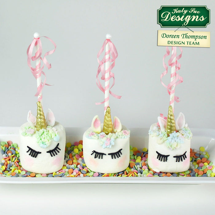 CD - Unicorn Lashes, Horn and Ears cake decorating mould