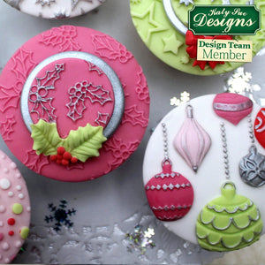 CD - An idea using the Christmas Baubles Silicone Mould product