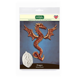 C&D - Dragon Mould for Cake and Craft
