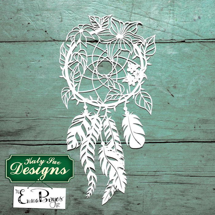 C - Paper Cut Dream Catcher