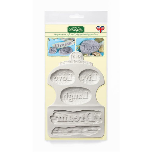 C&D - Dream Driftwood and Word Stones Mould Pack Shot