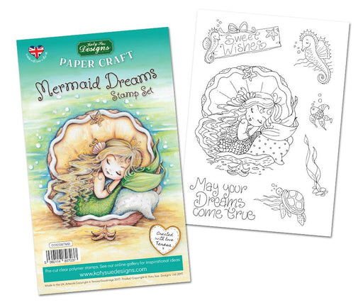 Mermaid Dreams Stamp Set