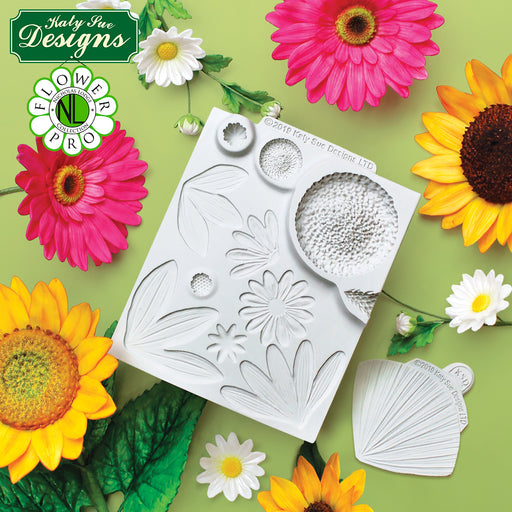 C&D - Flower Pro Ultimate Sunflower / Daisy  Mould and Veiner