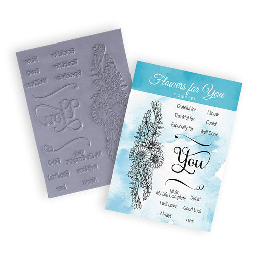 A5 Flowers For You | Rubber Stamps (Pack of 16)
