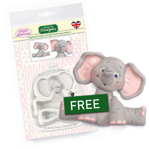 C&D - Elephant Cake Mould