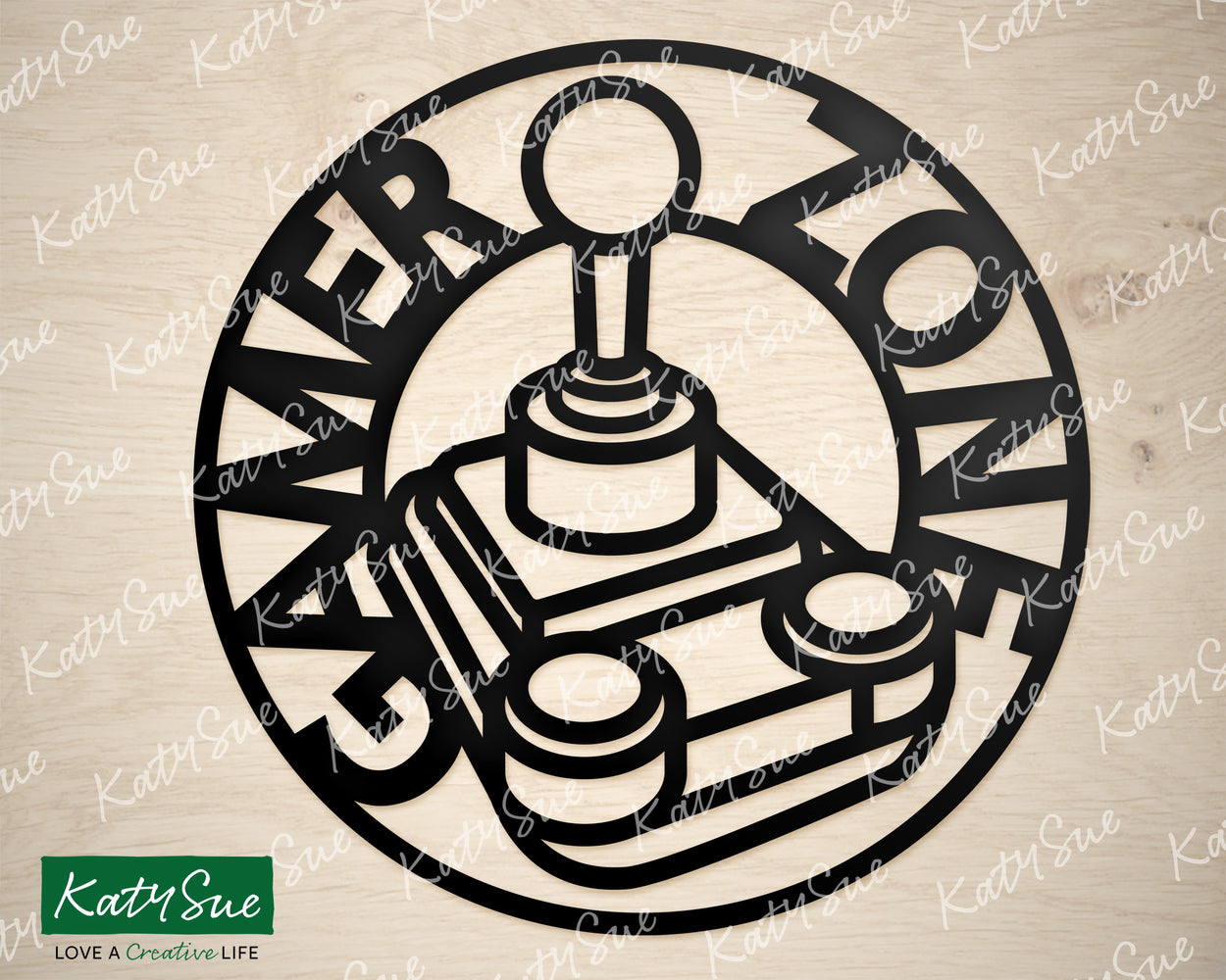 Gamer Zone | Digital Cutting File