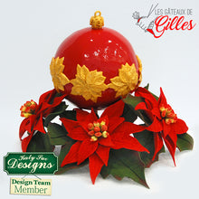 CD - Idea using Poinsettia Mould and Veiner
