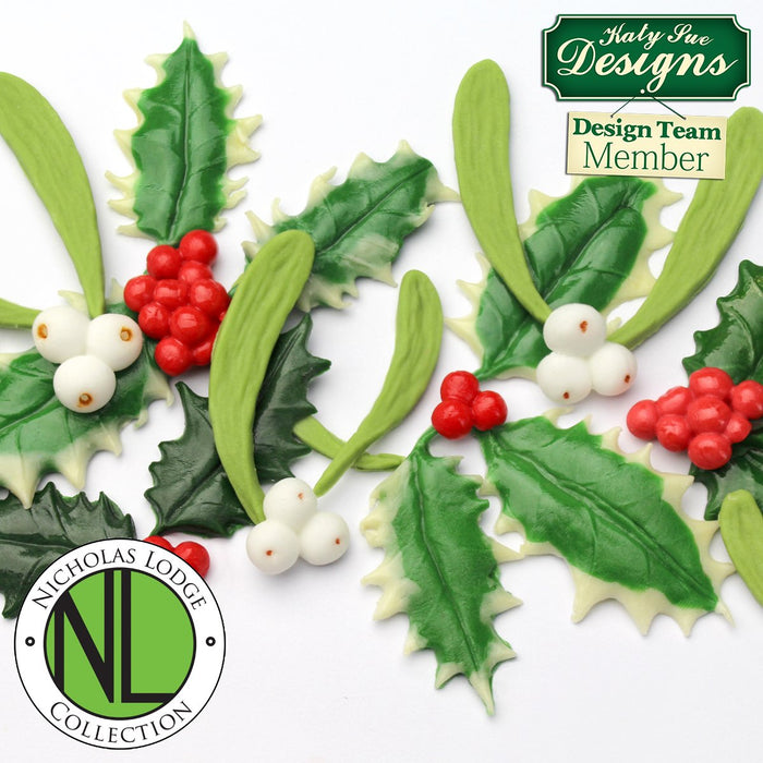 CD - An idea using the Holly & Mistletoe Mould product