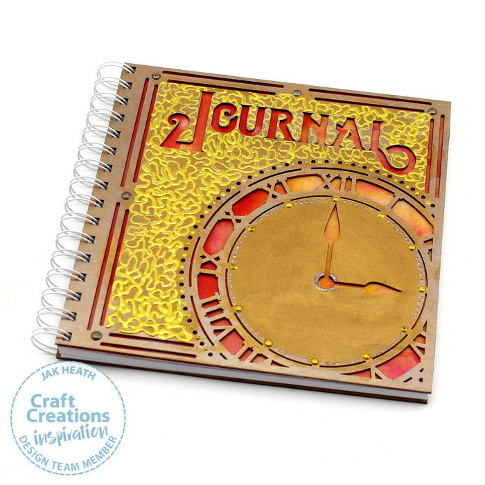 8 inch Square MDF Journals - Time to Journal