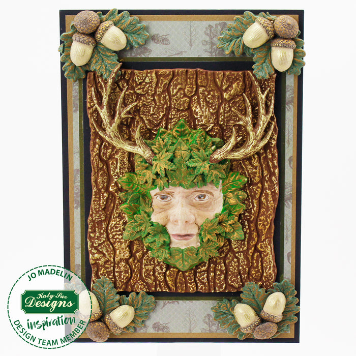 Green Man Silicone Mould for Cake Decorating and Craft