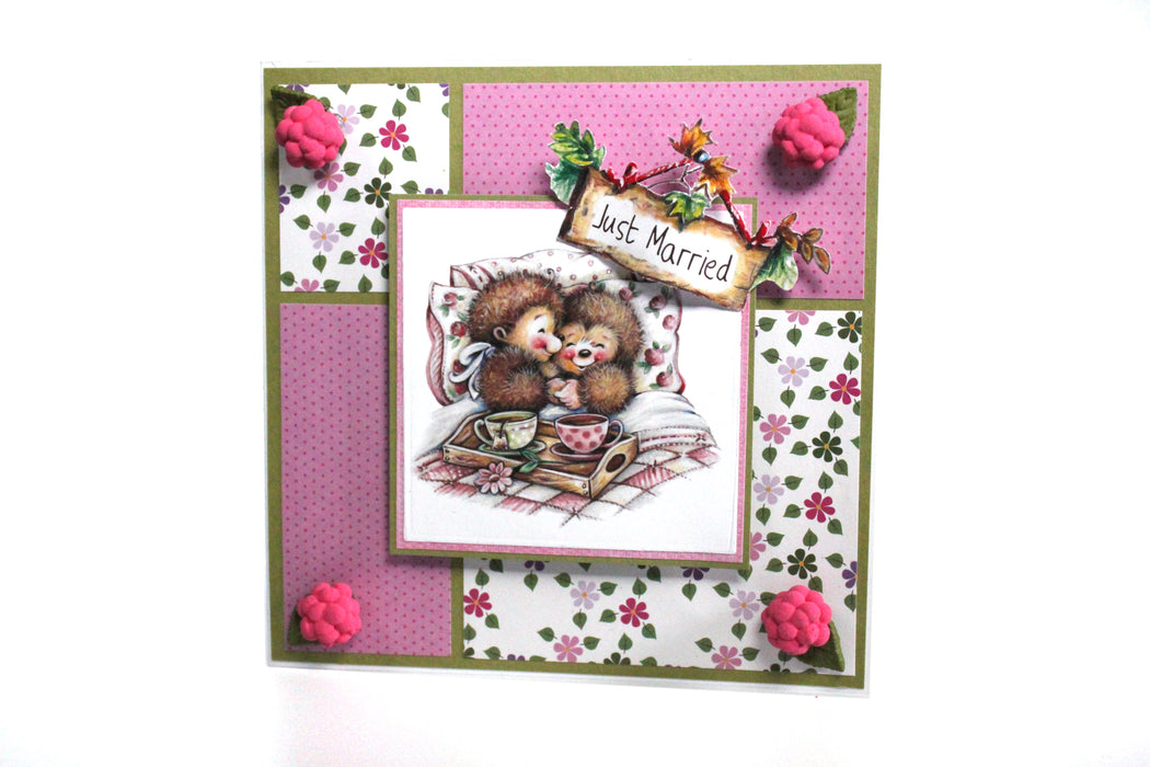 Hedgehog Friends Collection | Paper Craft Pad (Not Die Cut)