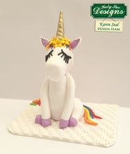 C - Unicorn Lashes, Horn and Ears CRAFT decorating mould
