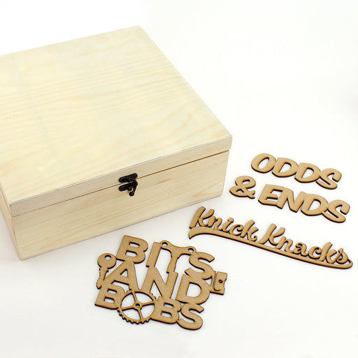 MDF Bits and Bobs Storage Box