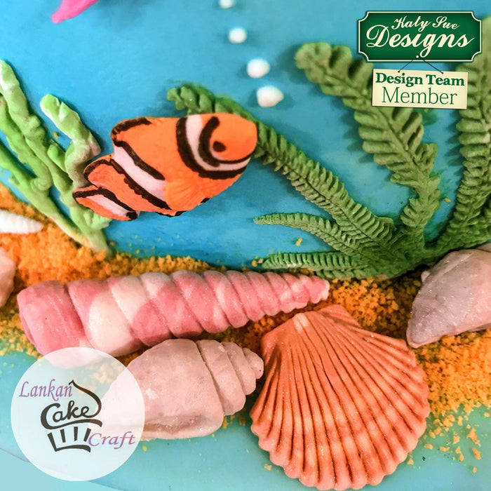 CD - An idea using the Fish, Seaweed and Coral Mould