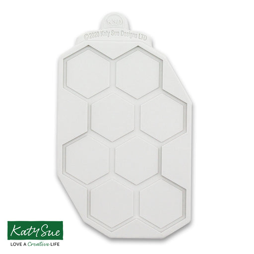 Large Continuous Honeycomb Silicone Mould Design Mat for Cake Decorating and Craft