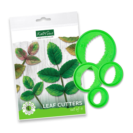Flower Pro Leaf Cutters - Set of 4