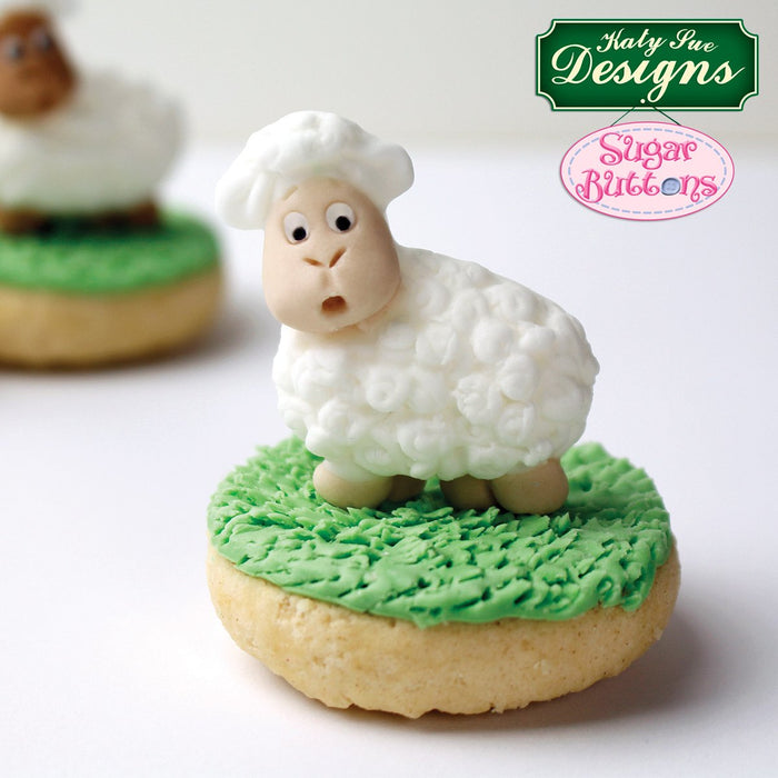 CD - An idea using the Lamb Sugar Buttons Silicone Mould product