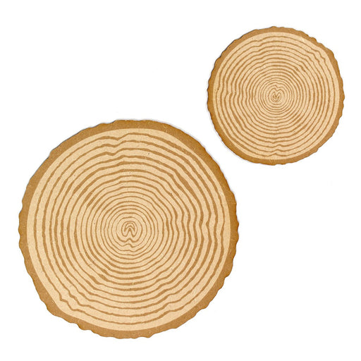 MDF Log Slices