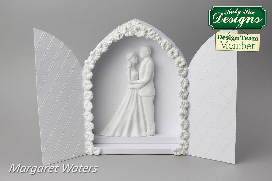 C - An idea using The Bride and Groom Mould
