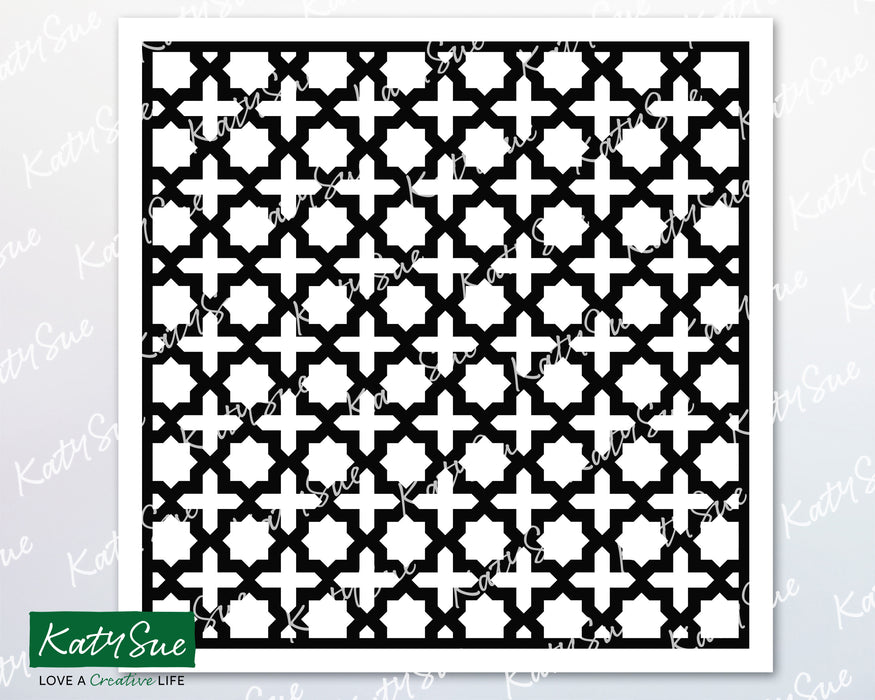 Moroccan Trellis Stencil | Digital Cutting File