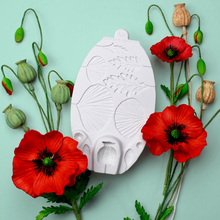 C&D - Flower Pro Poppy Mould