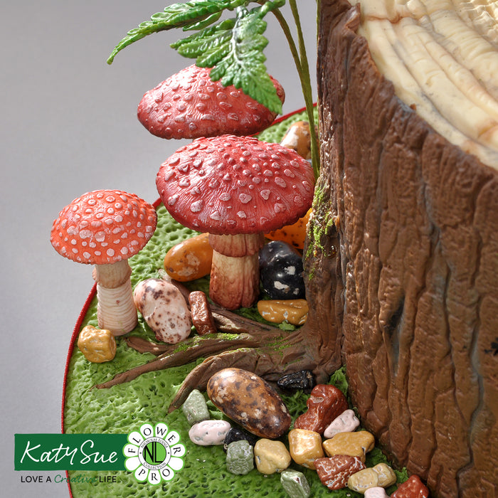 Flower Pro Toadstools and Mushrooms Mould and Veiner