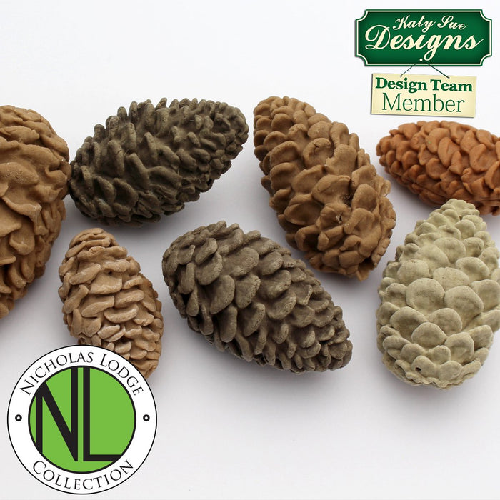 CD - An idea using the Pine Cones Mould product