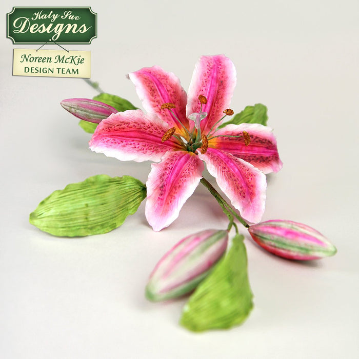 C - Cake Idea using the Flower Pro Lily Buds Mould