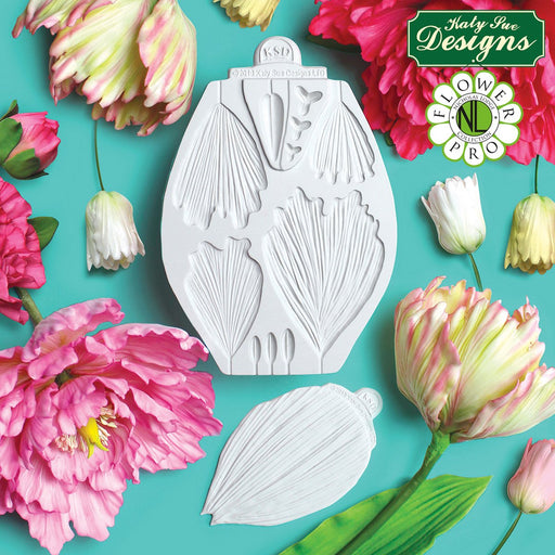 C&D - Peony / Tulip Mould and Veiner