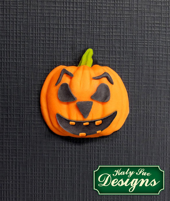 Pumpkin Face Silicone Mould